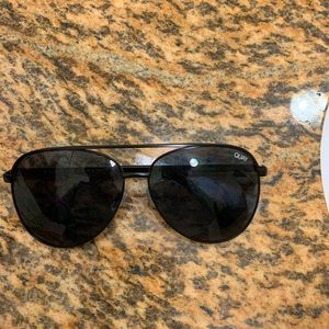 QUAY Aviator polarized sunglasses
